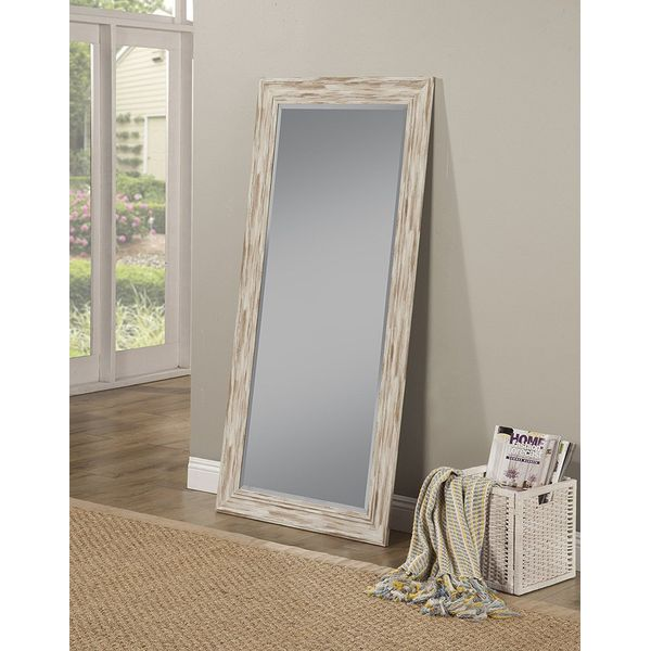 Sandberg Furniture Farmhouse Full Length Leaner Mirror