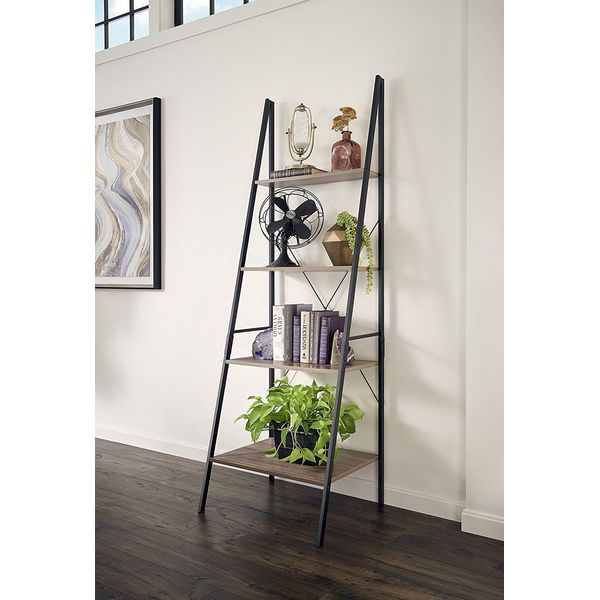 ClosetMaid Leaning Ladder Shelf, Gray