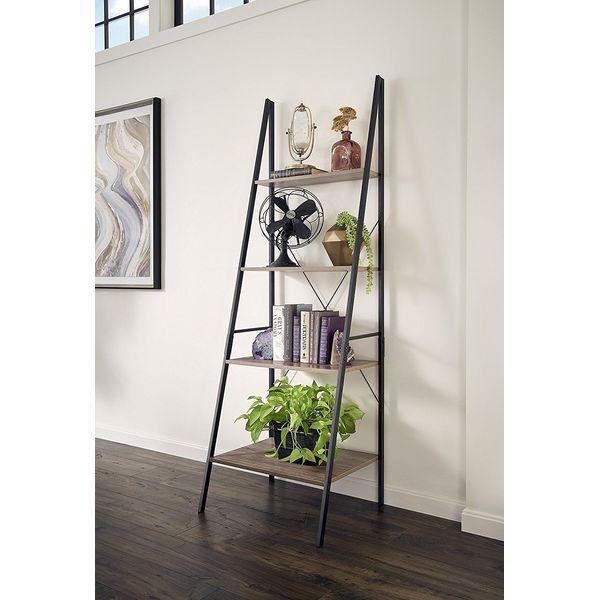 ClosetMaid Leaning Ladder Shelf, Gray