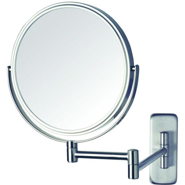 5x Magnifying Wall Mounted Mirror