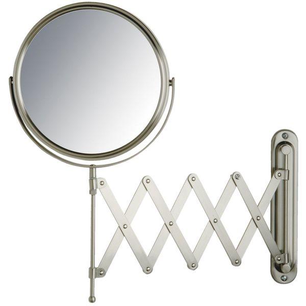 Jerdon 8-Inch Wall Mount Mirror