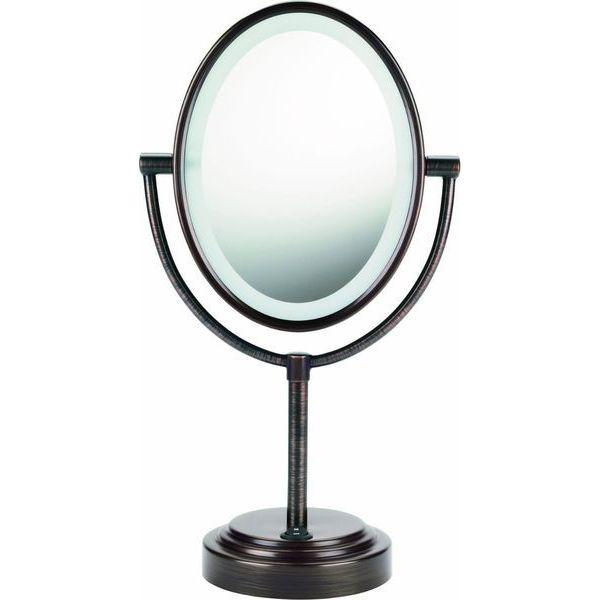 Conair Double-Sided Illuminated Oval Mirror