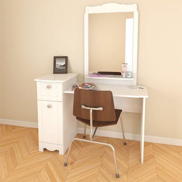 Nexera Dixie Student Desk Bedroom Vanity