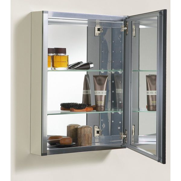 Kohler Aluminum Cabinet with Oil-Rubbed Bronze Framed Mirror Door