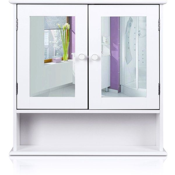 Sliding Mirror Lighted Medicine Cabinet