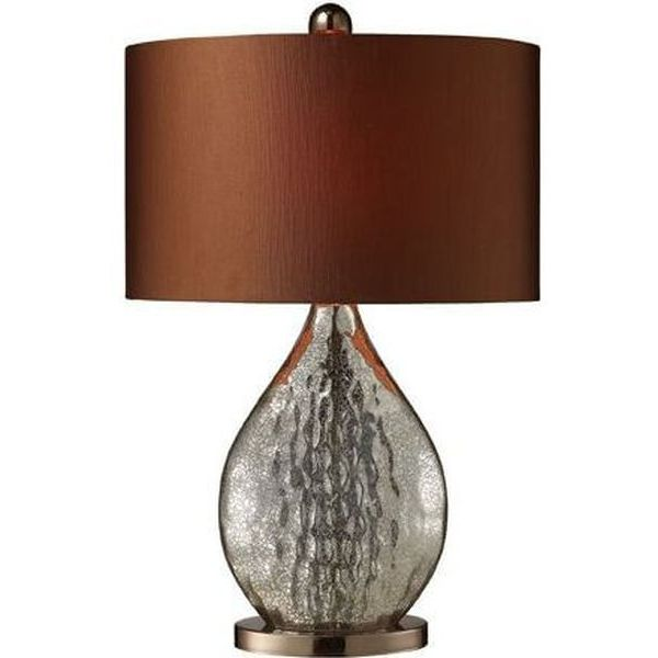 Dimond Sovereign Table Lamp in Antique Mercury