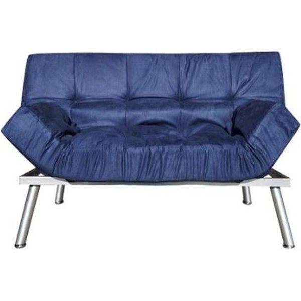 Navy College Cozy Sofa/Mini Futon
