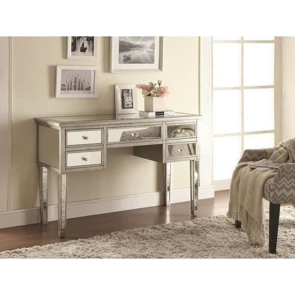 Coaster Home Furnishings Console Table, Silver