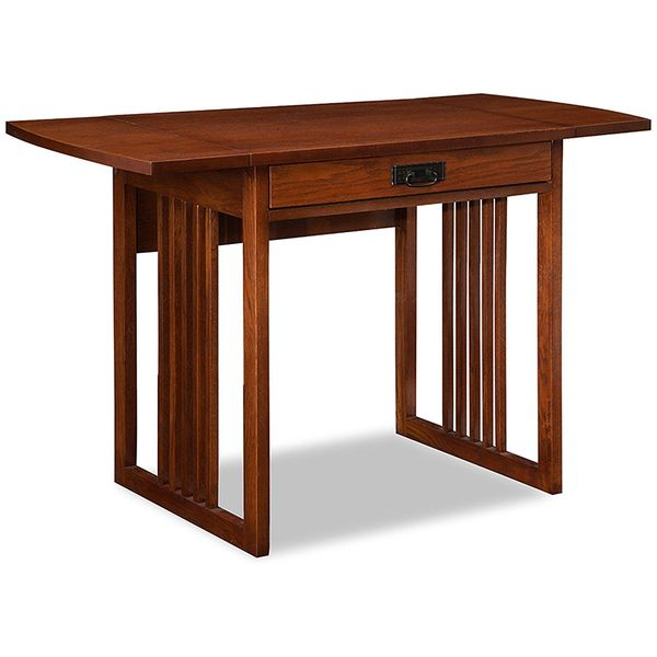 Leick Mission Oak Computer Desk
