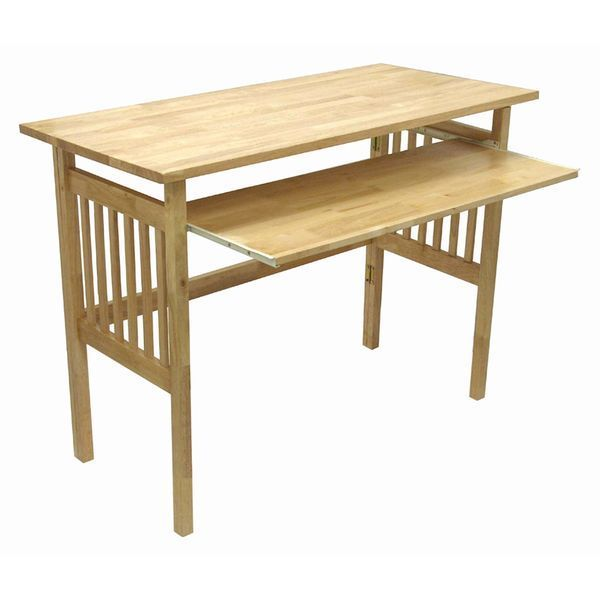 Winsome Natural Wood Foldable Desk