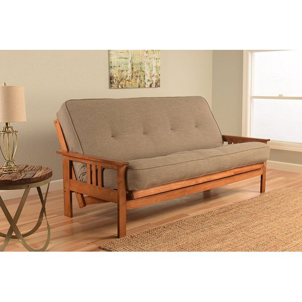 Kodiak Furniture Monterey Mission Style Futon, Barbados Finish