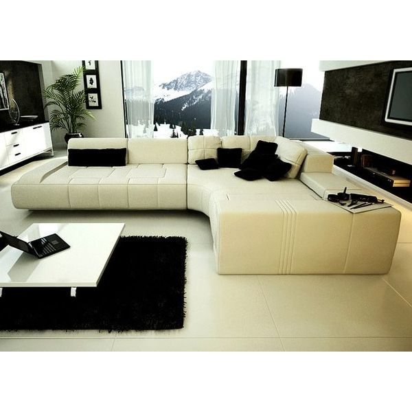 Tosh Furniture Franco Modern Sectional Sofa