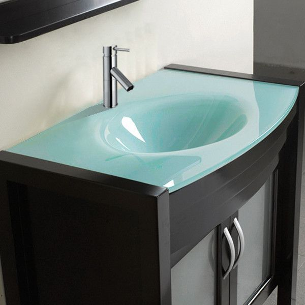 Belvedere 36-inch Modern Single Sink Bathroom Vanity Set with Mirror