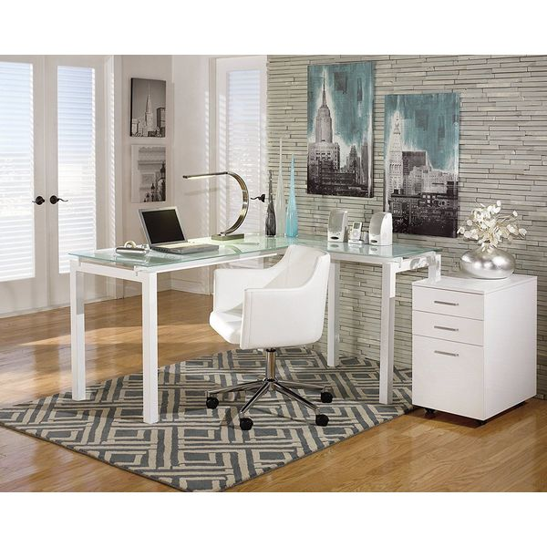 Ashley Furniture Baraga Contemporary Office Desk