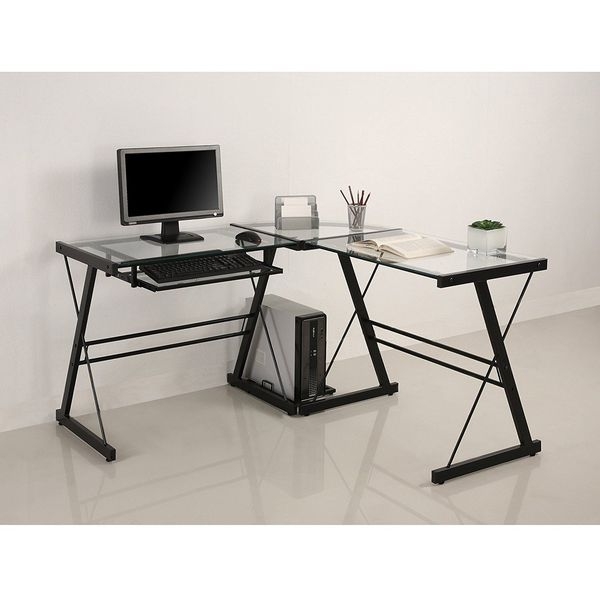 Walker Edison 3-Piece Contemporary Modular Desk