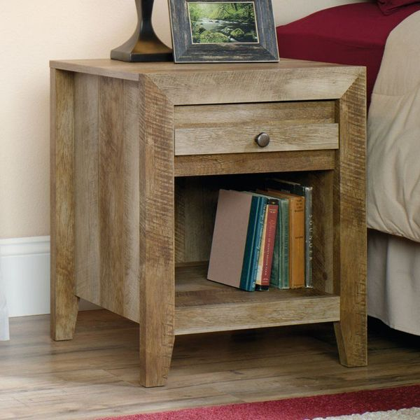 Sauder Craftsman Oak Nightstand