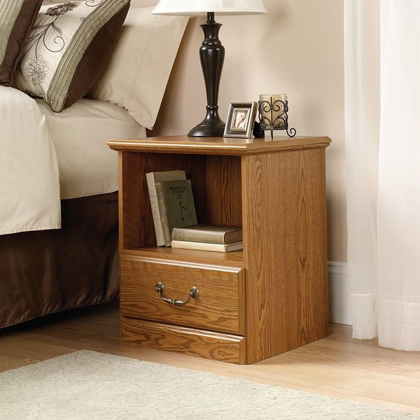 Sauder Orchard Hills Oak Nightstand