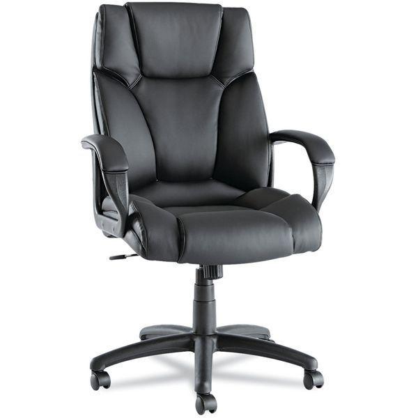 Alera Fraze Executive High-Back Swivel/Tilt Leather Chair