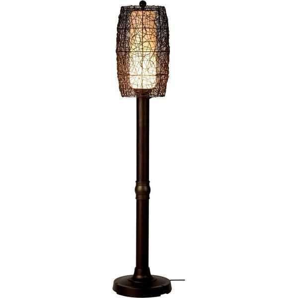 Bristol Floor Lamp with Walnut Shade