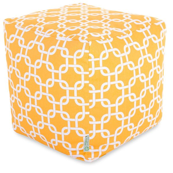 Majestic Home Goods Bean Bag Outdoor Ottoman