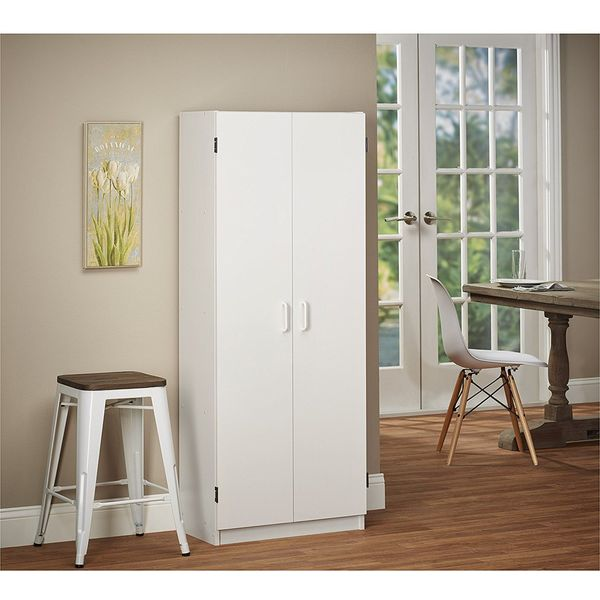 Ameriwood Double Pantry, White
