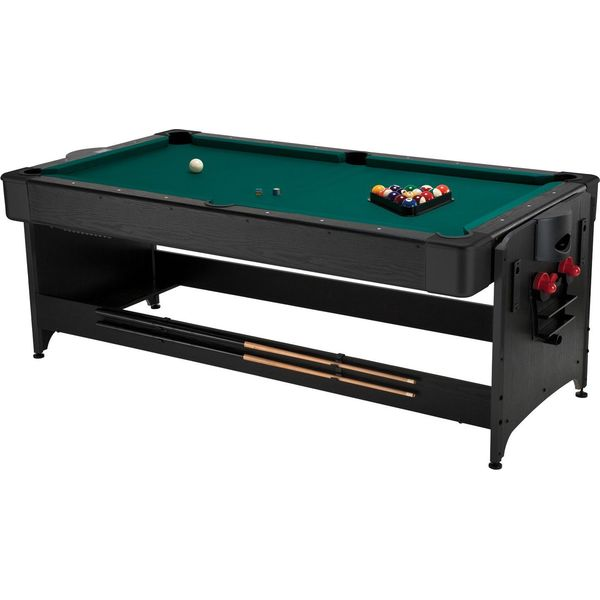 Fat Cat Black Finish 3-In-1 Pockey Table