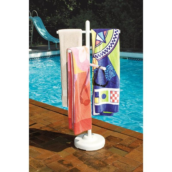 Poolside Towel Rack by Hydrotools