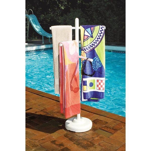 Poolside Towel Rack by Hydrotools