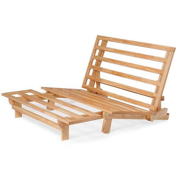 queen futon frame wood futon lounger trifold hardwood queen size futon frame futons easy home concepts