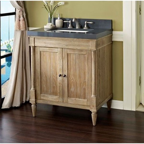 Fairmont Designs Rustic Chic 30-Inch Vanity in Weathered Oak