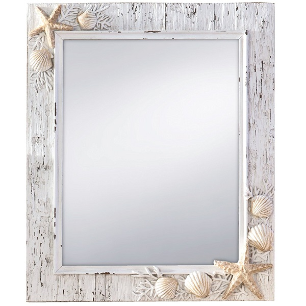 Prinz Sand Piper Seashell Mirror