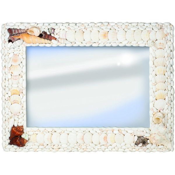 Pinnacle Frames and Accents Seashell Mirror