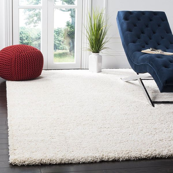 Dalyn Illusions High Luster Chocolate Shag Rug