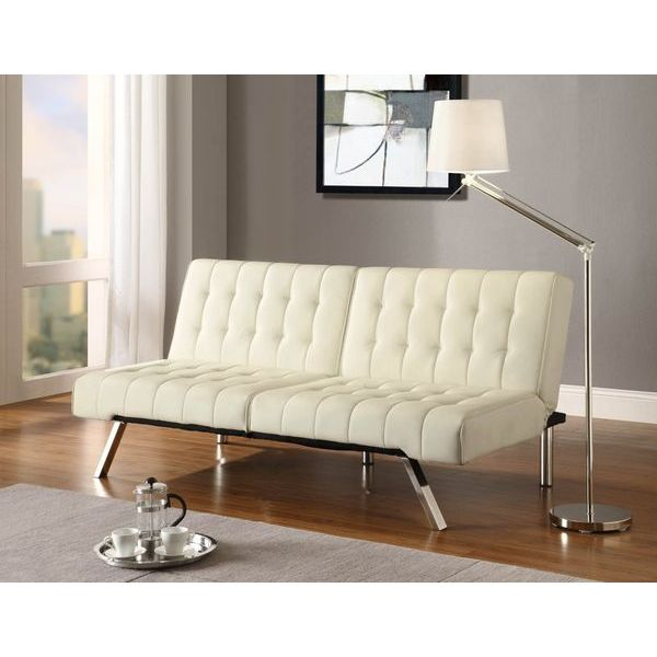 HomCom 61 Modern Velvet Chaise Lounge Sofa Chair