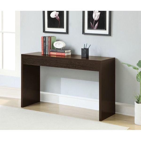 Convenience Concepts Northfield Wall Console Table, Espresso