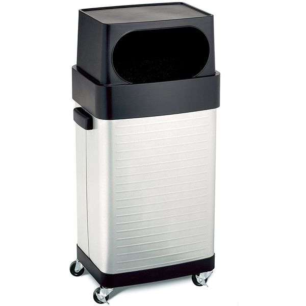 Seville Classics 17-Gallon UltraHD Commercial Stainless Steel Trash Can