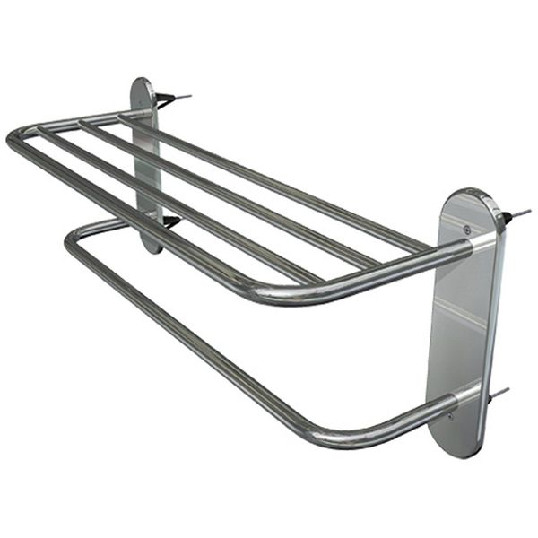 WingIts Towel Rack 24-Inch Satin Nickel Stainless Steel Finish