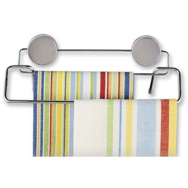 Better Houseware Magnetic Stainless Steel Double Towel Bar