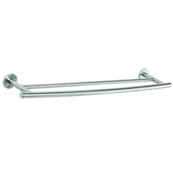 Amerock Arrondi Collection 24-Inch Stainless Steel Double Towel Bar