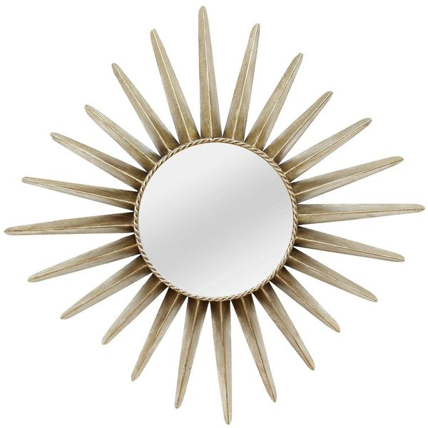 Stratton Home Decor Charlotte Sunburst Mirror