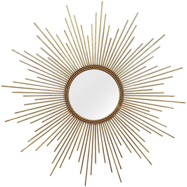 Stratton Home Decor Andrea Sunburst Mirror