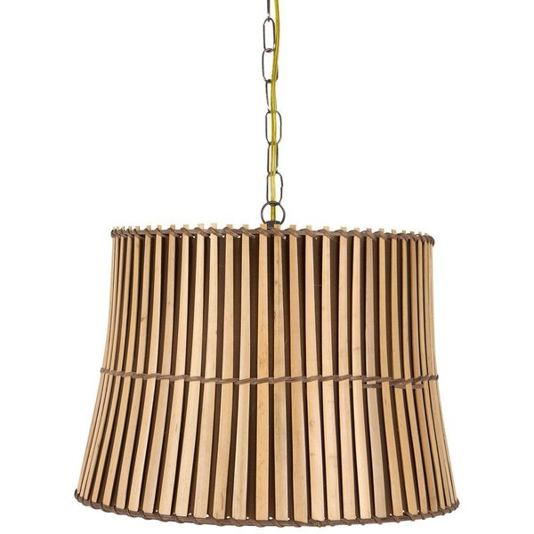Upgradelights Bamboo Swag Lamp