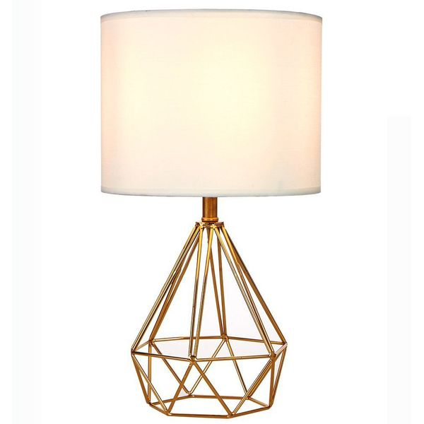 SOTTAE Golden Hollowed Out Table Lamp