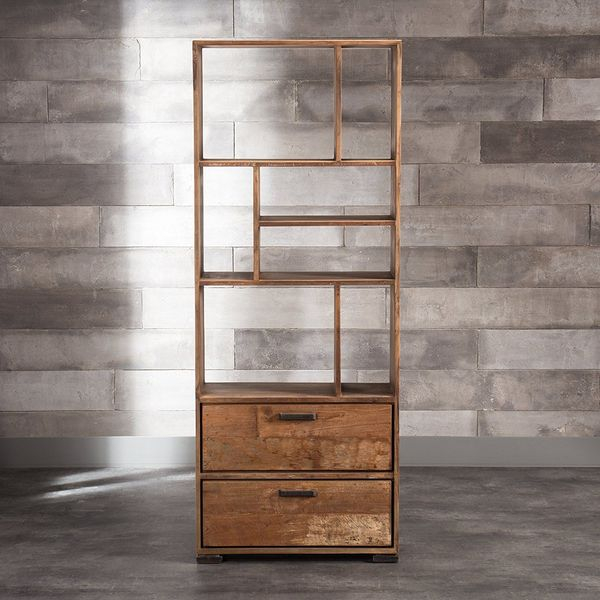 Artemano Sari Bookcase with Two Drawers