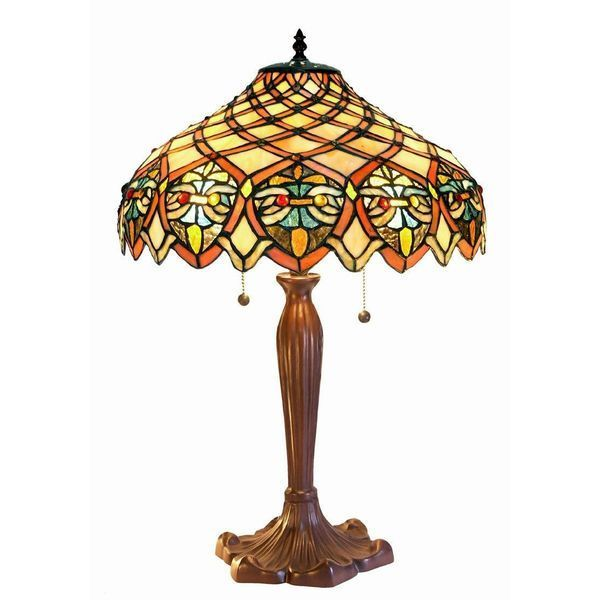 Tiffany-Style 29-Inch Table Lamp