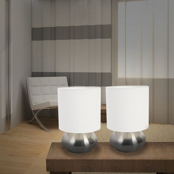 Versailles 2-Pack Touch Lamp Set