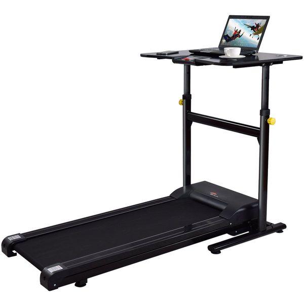 Goplus Adjustable Height Treadmill Desk