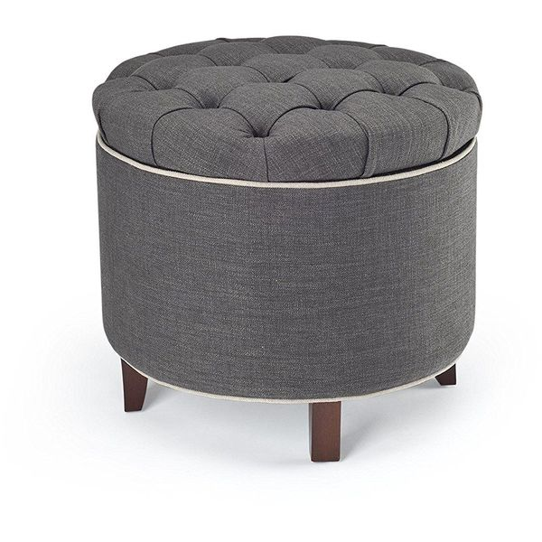 Safavieh Amelia Tufted Ottoman with Storage