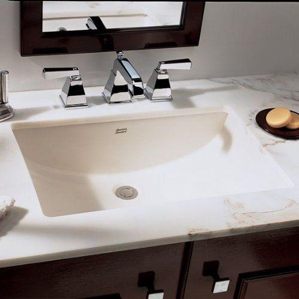 American Standard Studio Undercounter Bathroom Sink, White