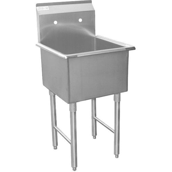 ACE 1 Compartment Stainless Steel Commercial Food Preparation Sink